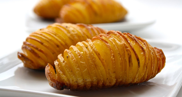 Рецепт запеченного картофеля с чесноком и оливковым маслом