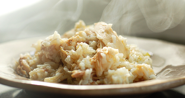 Рецепт риса с курицей и пряностями