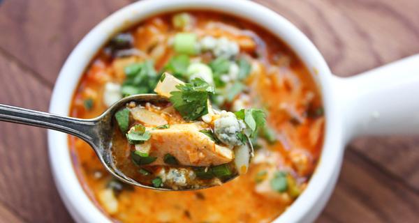 Рецепт острого куриного супа