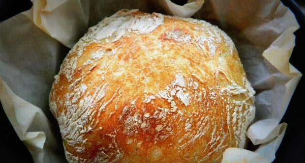 Домашний хлеб с мускатным орехом