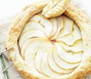 Пирог с яблоками и медом