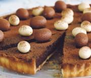 Пасхальный шоколадный тарт