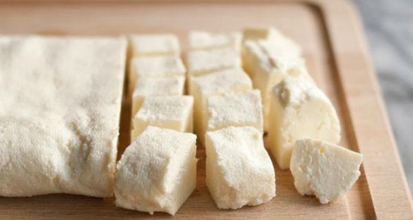 Домашний панир из цельного молока за 30 минут