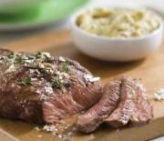 Пасхальное мясо-барбекю с солью и розмарином
