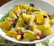 Картофельный салат — идеальный гарнир к мясу