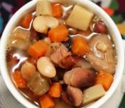 Суп из говядины с фасолью