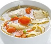Суп домашний с лапшой