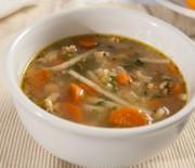 Суп со стручковой фасолью и макаронами