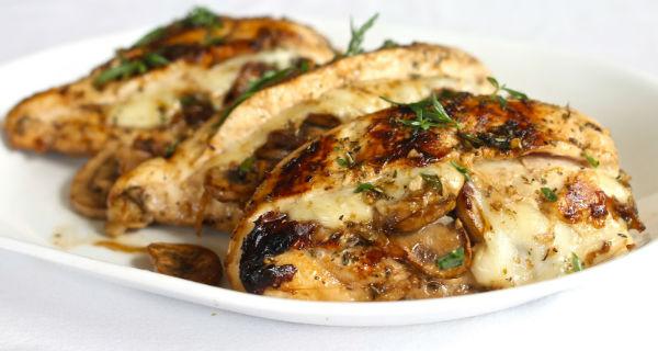 куриные грудки фаршированные сыром рецепт с фото