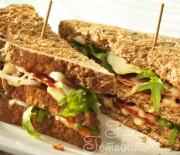 Теплый сэндвич с печенью