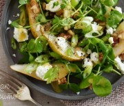 Салат с грушей и фетой