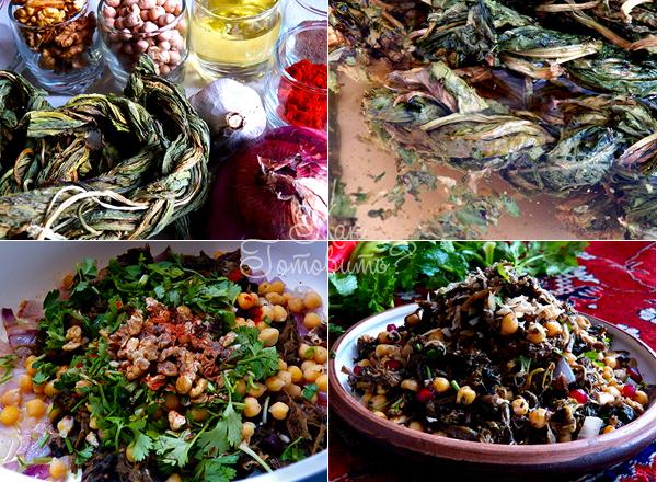 Салат из авелука с сисером