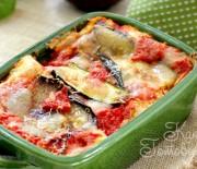 Лазанья с цуккини, помидорами и рикоттой