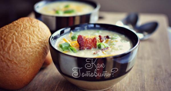 Легкий картофельный суп