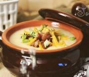Картофельный суп с мясными булочками