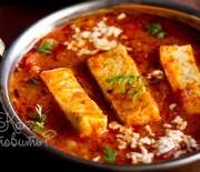 Сыр с помидорами по-индийски