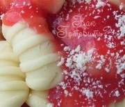 Ньокки из рикотты с розмарином под клубничным соусом
