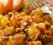 Ароматный жареный картофель