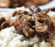 Картофельное пюре с грибами