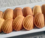 Мадлен с медом, фундуком и корицей