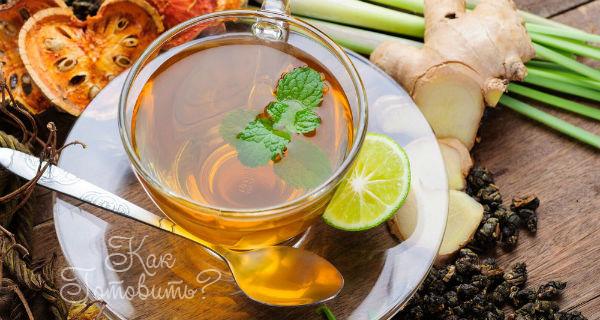 Травяной чай № 5.