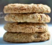 Печенье с яблоками и орехами пекан