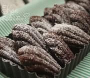 Мадлен шоколадные с ганашем
