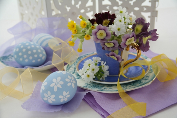 Пасхальный стол: декор и сервировка