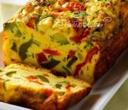 Террин из яиц и овощей