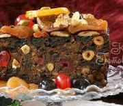 Рождественский кекс с сухофруктами и пряностями