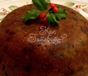 Пудинг рождественский с цукатами