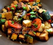 Тофу и овощи стир фрай