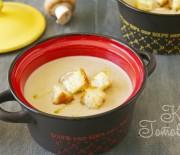 Быстрый грибной суп-пюре