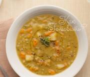 Гороховый суп с курицей