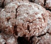 Шоколадно-ореховые печенья-трещинки