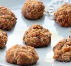 Ржаное печенье с морковью