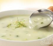 Суп-пюре с картофелем и пореем